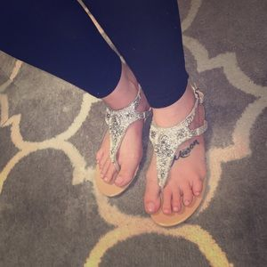 Express stunning and bling/classy style sandals!